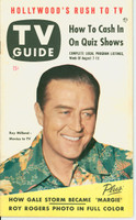 1953 TV Guide Aug 7 Ray Milland Northwest edition Excellent to Mint - No Mailing Label  [Lt toning on cover; ow clean]