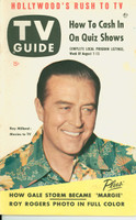 1953 TV Guide Aug 7 Ray Milland Detroit edition Excellent - No Mailing Label  [Lt toning on cover; ow clean]