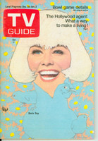 1968 TV Guide Dec 28 Doris Day Iowa edition Near-Mint - No Mailing Label  [Very clean example]