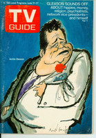 1969 TV Guide Jun 21 Jackie Gleason Central California edition Excellent - No Mailing Label  [Lt wear on cover; ow clean]