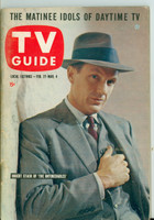 1960 TV Guide Feb 27 Robert Stack of The Untouchables (First Cover) Illinois edition Excellent to Mint - No Mailing Label  [Very light wear on the cover, ow very clean]