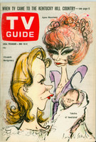 1966 TV Guide Jun 18 Bewitched Eastern Illinois edition Excellent - No Mailing Label  [Lt toning along binding, ow clean]