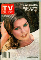 1980 TV Guide Sep 20 Priscilla Presley Souterhn Oregon State edition Very Good - No Mailing Label  [Wear on both covers; contents fine]