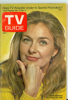 1971 TV Guide November 27 Joanne Woodward Central California edition Excellent to Mint - No Mailing Label  [Sm crease on cover, ow very clean]
