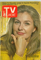1971 TV Guide November 27 Joanne Woodward Eastern Illinois edition Good to Very Good  [Sl loose at staples, sm tape on cover, label removed; contents fine]
