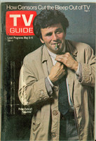 1973 TV Guide May 5 Peter Falk of Columbo Eastern Illinois edition Excellent  [Lt wear on cover, label removed; contents fine]