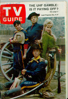 1965 TV Guide Dec 11 Cast of F Troop (First Cover) Northern Illinois edition Very Good - No Mailing Label  [Sl loose at staples, Date and stray WRT on cover; contents fine]
