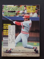 1985 Baseball Digest August Pete Rose Very Good to Excellent