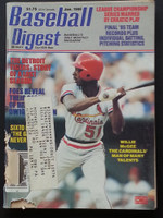 1986 Baseball Digest January Willie McGee Fair to Good