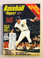1977 Baseball Digest April Mark Fidrych (from the Red Schoendienst Collection) Very Good to Excellent