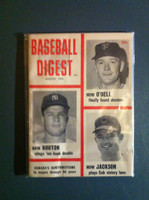 1963 Baseball Digest August Jim Bouton Excellent to Mint