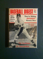 1966 Baseball Digest May Sam McDowell Excellent