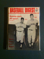 1967 Baseball Digest June Juan Marichal - Gaylord Perry Excellent to Excellent Plus