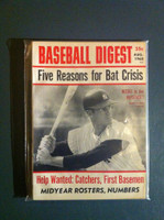 1968 Baseball Digest August Andy Kosco Excellent to Mint