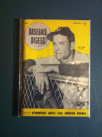 1948 Baseball Digest January Joe Page Very Good to Excellent