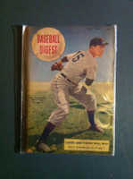 1948 Baseball Digest May Art Houtteman Very Good to Excellent