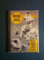 1950 Baseball Digest January Richie Ashburn - Roy Smalley Excellent