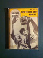 1951 Baseball Digest May George Earnshaw Excellent