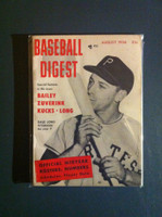1956 Baseball Digest August Dale Long Excellent to Mint