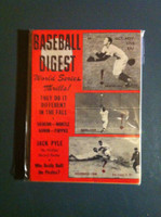 1958 Baseball Digest October World Series Excellent to Mint