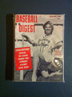 1959 Baseball Digest February Baseball's Darling Daughters Excellent to Mint
