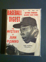1959 Baseball Digest May Juan Pizarro Excellent to Excellent Plus