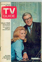 1969 TV Guide Nov 15 The Governor and JJ Minnesota State edition Good to Very Good - No Mailing Label  [Loose at staples, heavy wear on cover; contents fine]