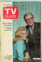 1969 TV Guide Nov 15 The Governor and JJ Northen Indiana edition Good to Very Good - No Mailing Label  [Sl loose at staples, heavy wear on cover; contents fine]