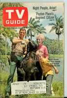 1968 TV Guide Aug 10 Cast of Gentle Ben NY Metro edition Very Good to Excellent  [Sl loose at the staples, lt wear on cover, contents fine]
