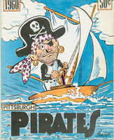 1960 Pirates Yearbook World Championship Season Excellent Lt cover wear