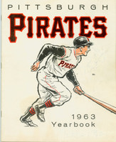 1963 Pirates Yearbook Very Good Some writing on front cover, ow excellent