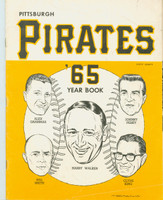 1965 Pirates Yearbook Very Good to Excellent Lt wear and creasing on front cover