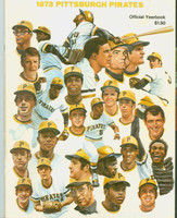 1973 Pirates Yearbook Near-Mint