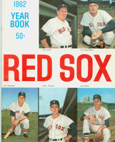 1962 Red Sox Yearbook Excellent Minor creasing on cover, contents fine