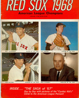 1968 Red Sox Yearbook Excellent Minor creasing on cover, contents fine