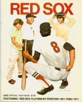 1972 Red Sox Yearbook Near-Mint to Mint Very light wear on cover, ow very clean
