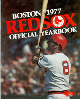 1977 Red Sox Yearbook Near-Mint Light wear on cover, ow clean