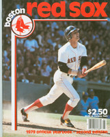 1979 Red Sox Yearbook Revised Near-Mint to Mint Very light wear on cover, ow very clean