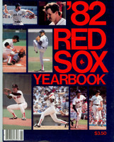 1982 Red Sox Yearbook Near-Mint to Mint Very light wear on cover, ow very clean