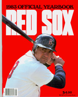 1983 Red Sox Yearbook Carl Yastrzemski (cover) Final Season Near-Mint to Mint Very light wear on cover, ow very clean