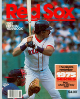 1985 Red Sox Yearbook Near-Mint to Mint Very light wear on cover, ow very clean