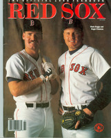 1988 Red Sox Yearbook Near-Mint Light wear on cover, ow clean