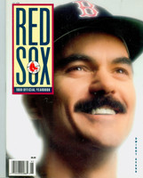 1989 Red Sox Yearbook Near-Mint to Mint Very light wear on cover, ow very clean