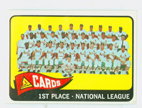 1965 Topps Baseball 57 Cardinals Team Excellent to Mint