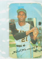 1970 Topps Baseball Supers 12 Roberto Clemente Pittsburgh Pirates Very Good