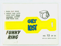 1966 Funny Ring 15 Funny Ring #15 Fair to Good