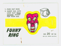 1966 Funny Ring 20 Funny Ring #20 Very Good