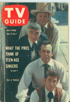 1960 TV Guide Jun 25 Bonanza (First Cover) Chicago edition Excellent - No Mailing Label  [Lt wear on cover, ow very clean]