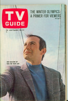 1968 TV Guide Feb 3 Ben Gazzara of Run For Your Life Southern Ohio edition Near-Mint - No Mailing Label  [Very light wear, ow very clean example]