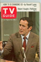 1968 TV Guide Feb 24 Joey Bishop Philadelphia edition Near-Mint - No Mailing Label  [Very light wear, ow very clean example]